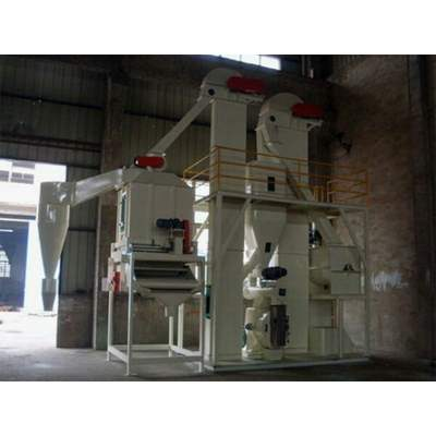 Complete Cattle Feed Plant