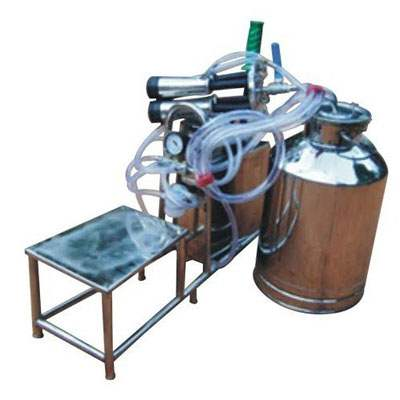 Hand Cum Invertor Cum Electric Operated Milking Machine