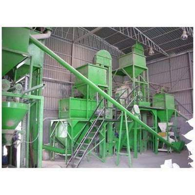 Pellet Type Cattle Feed Plant