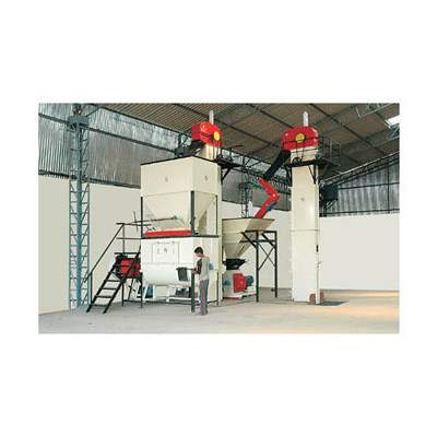 Semi Automatic Cattle Mesh Feed Plant