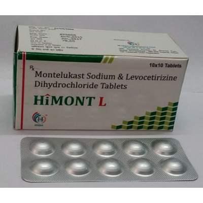 Levocetirizine Hydrochloride and Montelukast