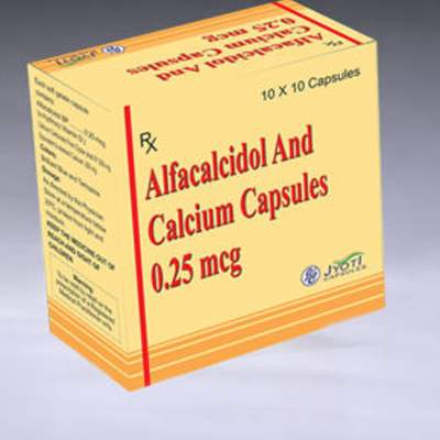 Alfacalcidol and Calcium Capsules