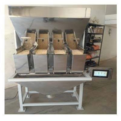 Four Head Pouch Packing machine