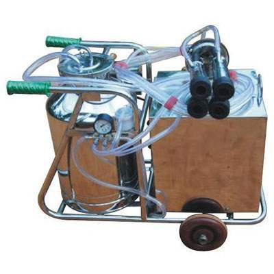 Hand Operated Milking Machine With Sitting Area