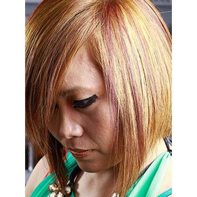Hair coloring services in Chandigarh