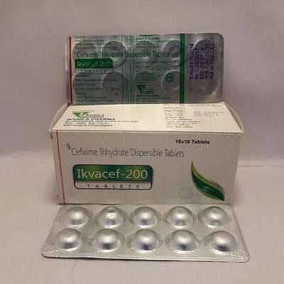 Ikvacef 200 Tablets