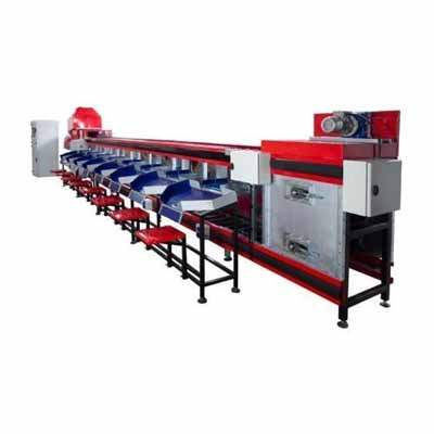 Fruits And Vegetables Grading Line